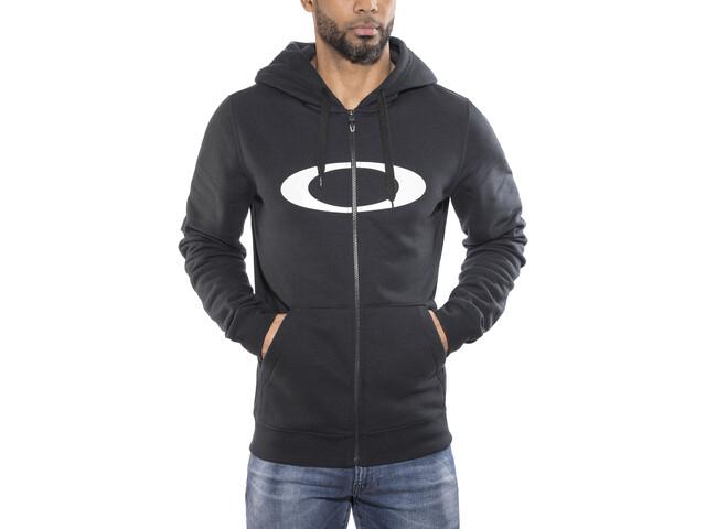 Oakley DWR Ellipse Full Zip Sweatshirt Men Blackout